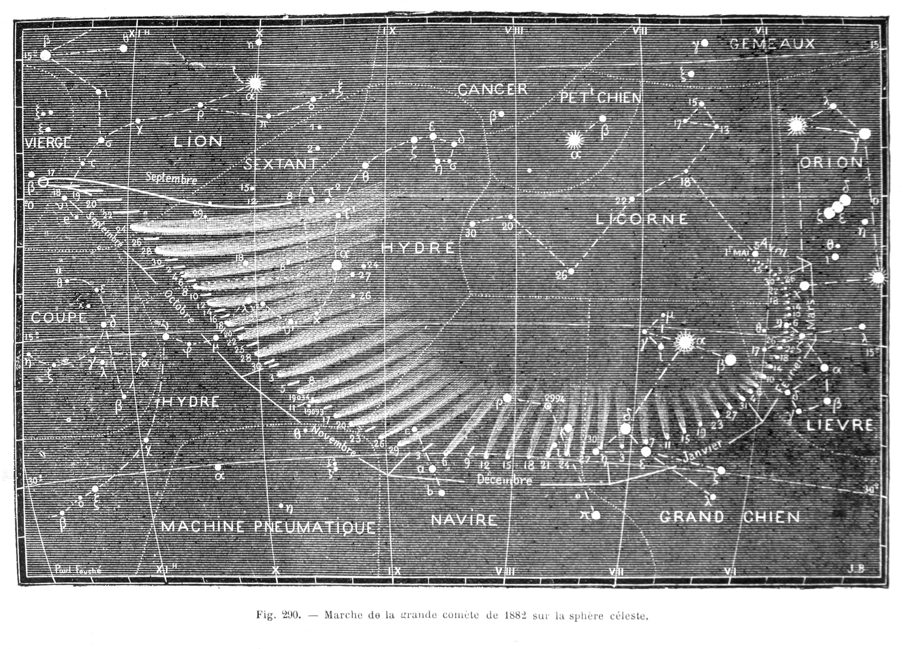 貴重資料展示室058 「すばる」と1882年の大彗星 - 国立天文台暦計算室